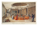 Messrs. Lackington, Allen and Co. Temple of the Muses, Finsbury Square, London, 1809 Premium Giclee Print by  English