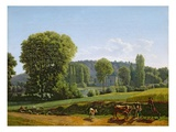 Landscape with Animals, 1806 (Oil on Canvas) Giclee Print by Lancelot Theodore Turpin de Crisse
