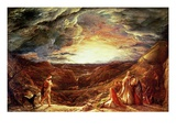 The Eve of the Deluge Giclee Print by John Linnell
