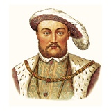 King Henry Viii Giclee Print by  English