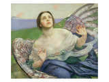 The Gift of Sight Giclee Print by Annie Louisa Swynnerton