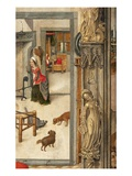 Interior Scene and Group of Males, Detail Giclee Print by  Flemish