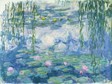 Waterlilies, 1916-19 (Oil on Canvas) (See also Detail 382331) Reproduction proc&#233;d&#233; gicl&#233;e par Claude Monet