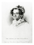 Mary Russell Mitford, Engraved by Thomson (Engraving) Giclee Print by Frederick Richard Say