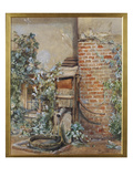 Study of an Old Water Pump, 1877 (W/C on Paper) Giclee Print by John Edward Newton