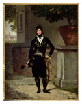 Portrait of an Officer of the Cisalpine Republic, 1801 Premium Giclée-tryk af Louis Gauffier