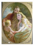 Parenthood, 1872 Giclee Print by George Elgar Hicks