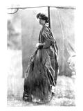 Jane Morris, Posed by Dante Gabriel Rossetti, 1865 (Albumen Print) Premium Giclee Print by John R. Parsons
