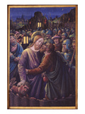 The Kiss of Judas, End of 15th Century (Vellum) Giclee Print by Jean Bourdichon