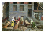 The Tannery Giclee Print by Leonard Defrance