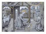 The Nativity (Vellum) Giclee Print by  Flemish