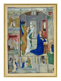 Annunciation, from a Book of Hours (Vellum) Giclee Print by  Master of the Prayerbook