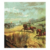 The Death of John Hampden Giclee Print by  English