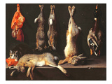 Still Life, Game (Oil on Canvas) Giclee Print by Jan Weenix