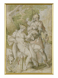 Mythological Scene Giclee Print by Bartholomaeus Spranger
