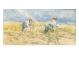Harvester, 1910 (W/C) Giclee Print by Lionel Percy Smythe