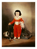 Don Manuel Osorio Manrique De Zuniga (1784-92) 1790S (Oil on Canvas) Giclee Print by Francisco Jose de Goya y Lucientes