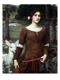 The Lady Clare, 1900 Giclee Print by John William Waterhouse