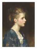 Nina, 1923 (Oil on Canvas) Giclee Print by Sir Samuel Luke Fildes