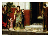 Returning from Market, 1865 (Oil on Panel) Giclee Print by Sir Lawrence Alma-Tadema