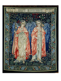 Angeli Ministrantes, 1894 (Tapestry) Giclee Print by Edward Burne-Jones