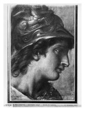 Alexander the Great, Study for the Painting 'The Tent of Darius' by Charles Le Brun in Versailles Giclee Print by Francois Verdier