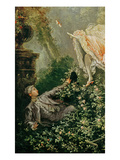 The Swing (Detail) Giclee Print by Jean-Honore Fragonard