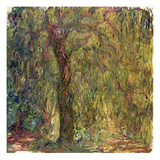 Weeping Willow, 1918-19 Giclee Print by Claude Monet