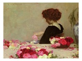 Pot Pourri, 1897 (Oil on Canvas) Giclee Print by Herbert James Draper