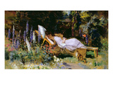 An Afternoon Nap Giclee Print by Harry Mitten Wilson