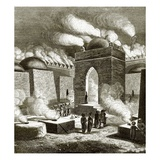 Fire Temple Near Baku Giclee Print by  English