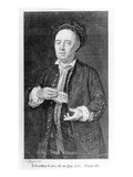Edward Cave, Printed 1754 (Engraving) Giclee Print by Francis Kyte
