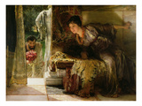 Welcome Footsteps, 1883 Giclee Print by Sir Lawrence Alma-Tadema