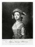 Miss Fanny Murray, Engraved by Corbutt (Mezzotint) Giclee Print by Henry Robert Morland