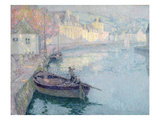 Clear Morning, Quimperle, 1923 (Oil on Canvas) Giclee Print by Henri Eugene Augustin Le Sidaner