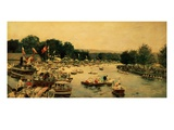 Henley Regatta, C.1877 Giclee Print by James Jacques Joseph Tissot