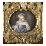 Portrait of a Young Woman Giclee Print by  French