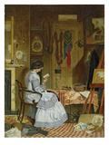 Waiting for the Artist, 1859 Giclee Print by George Winchester