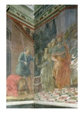 The Beheading of St. John the Baptist (Fresco) Giclee Print by Fra Filippo Lippi