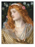 Miranda, 1868 (Oil on Panel) Giclee Print by Anthony Frederick Augustus Sandys