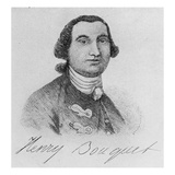 Colonel Henry Bouquet (Engraving) Giclee Print by John Wollaston