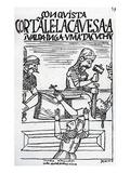 The Execution of the Inca King Atahualpa (Woodcut) Premium Giclee Print by Felipe Huaman Poma De Ayala