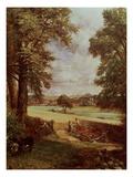 The Cornfield, Detail of the Harvester, 1826 Gicléedruk van John Constable