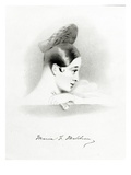 Marie Malibran, Engraved by Richard James Lane, 1836 (Litho) Giclee Print by Alfred-edward Chalon