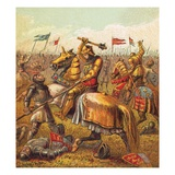The Wars of the Roses Giclee Print by  English