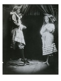 King Cophetua and the Beggar Maid, an Illustration from 'The Beggar Maid' by Alfred, Lord Tennyson Giclee Print by Julia Margaret Cameron