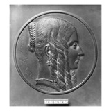 Baronne De Forget, Born Lavalette, 1847 (Bronze) Giclee Print by Pierre Jean David d'Angers