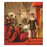 King Edward the Sixth Giclee Print by  English