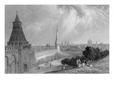 Moscow from the Esplanade of the Kremlin, Engraved by J. T. Willmore (Engraving) Giclee Print by Alfred Gomersal Vickers