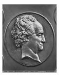 Johann Wolfgang Von Goethe, 1829 (Bronze) Giclee Print by Pierre Jean David d'Angers